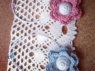 お花のモチーフゴム~その6の画像
