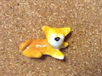 柴犬の飾り画びょうの画像