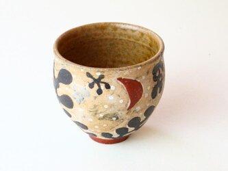 海と海藻と月の湯のみ NO.1 /茶器 / 湯呑 / 陶芸 / ceramic / potteryの画像