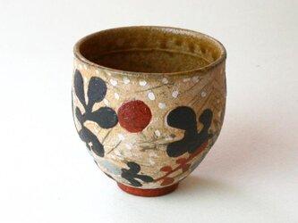 海と海藻と月の湯のみ NO.2 /茶器 / 湯呑 / 陶芸 / ceramic / potteryの画像