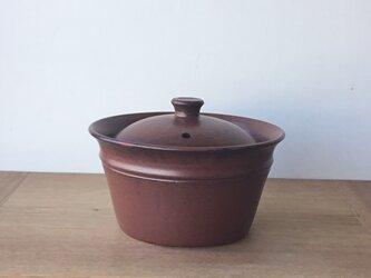 キャセロール小 鉄茶の画像