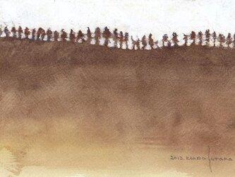 山並み (額縁付き)の画像