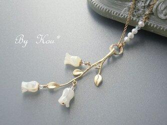 ~☾❄雪月風花✿*☽~vintage ネックレス。の画像