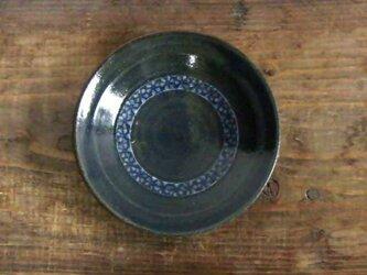 花三島象嵌皿(呉須)/オーダーメイド受付可の画像