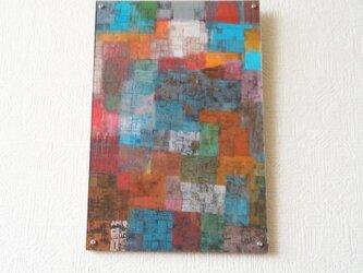 セン(抽象画)アクリル板つきの画像