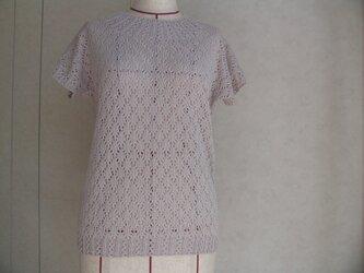 さわやかフレンチ袖のセーターの画像