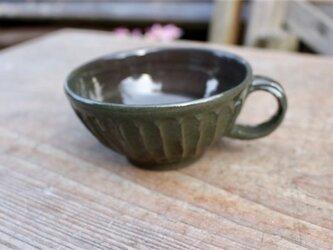 グリーンの器 カップ[18Fev-18]《釉薬》の画像