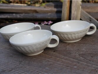 白の器 カップ小鉢[18Fev-37]《釉薬》の画像