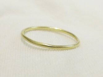 A simple ring(真鍮)の画像