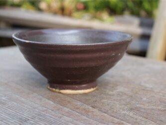 茶色の器 丼[18Fev-55]《釉薬》の画像
