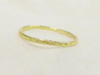 Stardust ring(真鍮)の画像