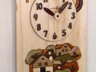 時計 森の家の画像