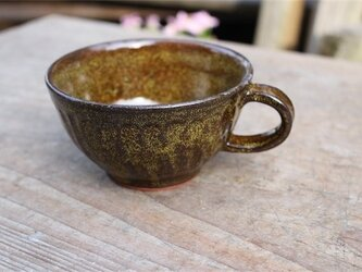茶色の器 カップ[18Fev-58]《釉薬》の画像