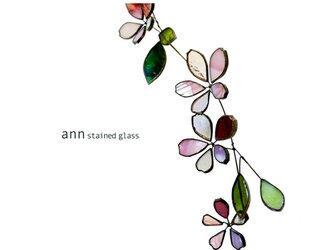 ステンドグラス さくら180208Pの画像