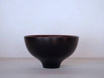 丼鉢(ブラックチェリー)の画像