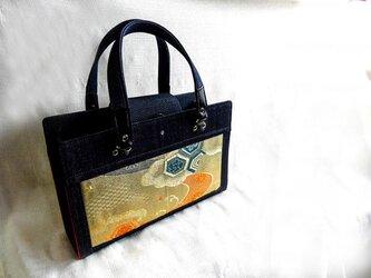 西陣織の帯で作った バッグ (参考出品)の画像