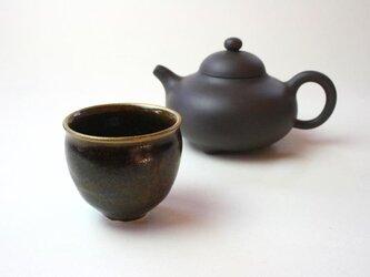 窯変天目の小さい茶器 NO.3 /陶芸 /茶器 /茶碗 / 窯変天目 / ceramic /pottery/tyawanの画像