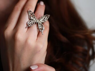 iNG-Swallowtail Butterfly M ringの画像