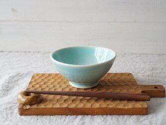 Pastel ごはん茶碗 アクア No.2121の画像