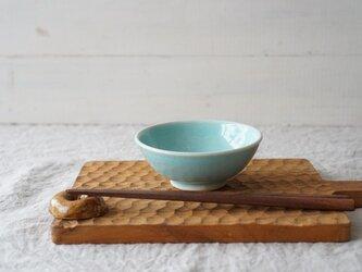 Pastel ごはん茶碗 アクア No.2122の画像