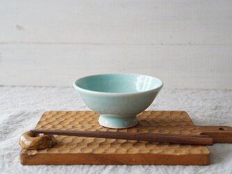 Pastel ごはん茶碗 アクア No.2123の画像