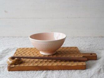 Pastel ごはん茶碗 ピンク No.213の画像