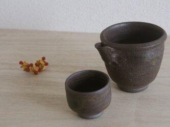 いざく湯の華焼  酒器の画像