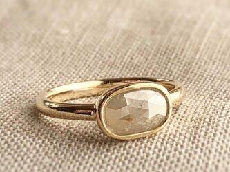 ナチュラルダイヤモンド リング /k10の画像