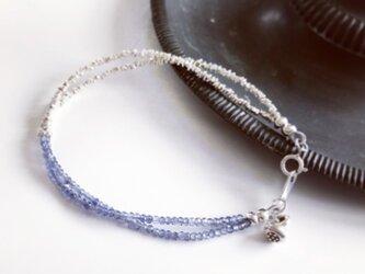 *受注製作*iolite*karensilver*braceletの画像