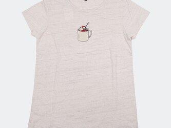 ボディから当店オリジナル レディース ブックキングの歯磨き ちょっとシュールなTシャツ Tcollectorの画像