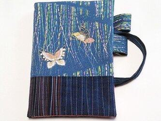 「和暦日々是好日」手帳のためのカバーバッグ、二蝶(B6ツバメノートもOK)の画像