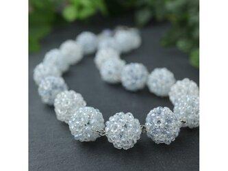 水色の花珠ネックレスの画像