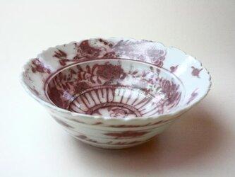 竜とスーパーベイビーの鉢/ 陶芸 /釉裏紅 /磁器 /鉢 /ceramic /pottery /の画像
