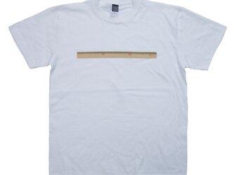 30cm物差し プリントTシャツ レディースS〜Lサイズ ユニセックスS〜XLサイズの画像