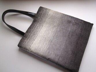 フラットバッグ:イタリア製ジャガードの画像