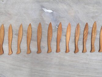 さかなのかたちのバターナイフの画像