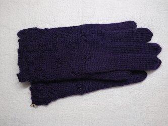 シェルボタンの手袋の画像