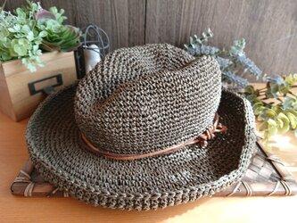 【受注制作】ほんのり中折れ《SASAWASHI》帽子の画像