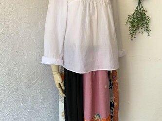 着物・浴衣パッチワークリメイクスカートの画像