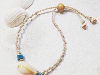 Takaragai macrame blaceletの画像