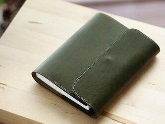 ほぼ日手帳カバー・オリーブ オリジナルしおり付属 <万年筆対応>の画像