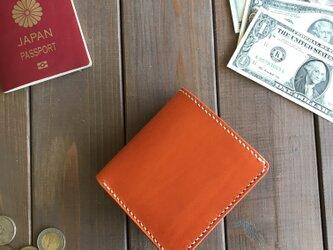 カードが沢山入る二つ折り財布の画像