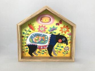 色鉛筆作品「モグモグ」の画像