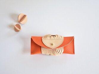 ARAN ちいさなケース(orange)の画像