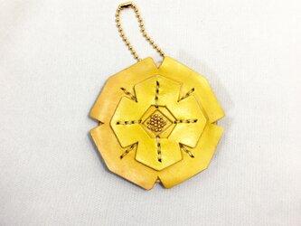 薔薇の鏡(満開・黄色)の画像