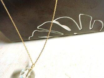 ひと粒ネックレス(レインボークォーツ)の画像