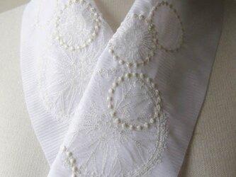 半衿・刺繍ポリ絽・花火・クライマックスの画像