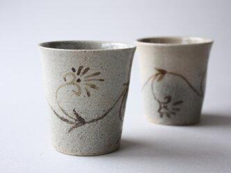忍冬文フリーカップの画像
