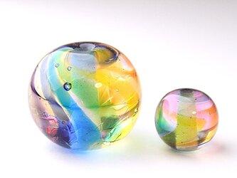 虹のゆらめき玉+虹の小粒のセットの画像