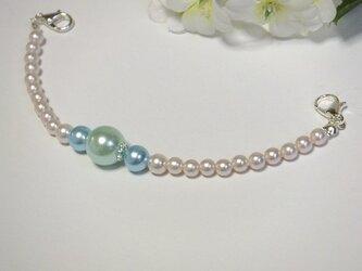 羽織紐◆3色カラー★カルトラぴんく・大玉グリーン・水色ブルーの画像